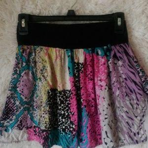 Lily White Circle/Skater Skirt Summer Casual